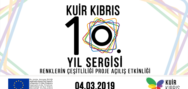 10th Anniversary Invitation of Queer Cyprus & Launch of Diversity of Colours Project