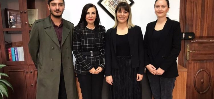 Coordinated Measures and Mechanisms for Anti- Trafficking (COMMIT)  and LIFE Project visited Emine Dizdarlı.