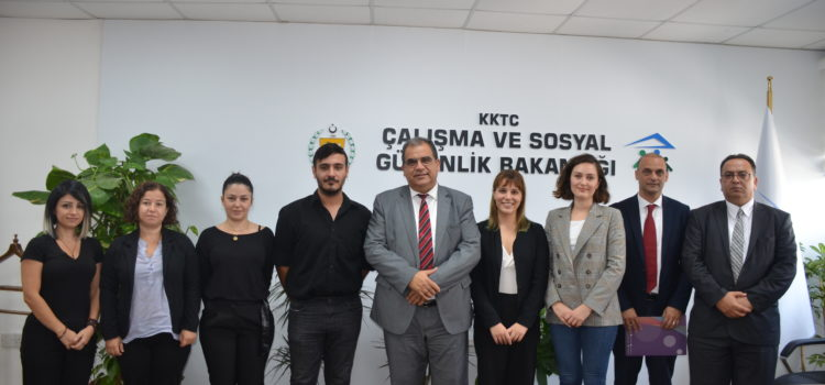 Coordinated Measures and Mechanisms for Anti- Trafficking (COMMIT)  and LIFE Project visited Local Body Responsible for Labour and Social Security.