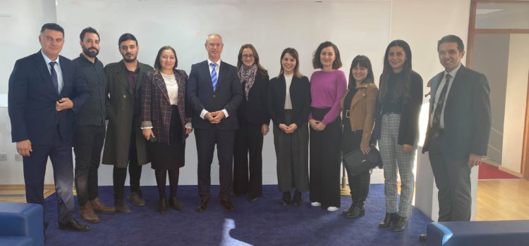 Coordinated Measures and Mechanisms for Anti- Trafficking (COMMIT) and LIFE Project visited Legal and Political Affairs and Foreign Relations Committee