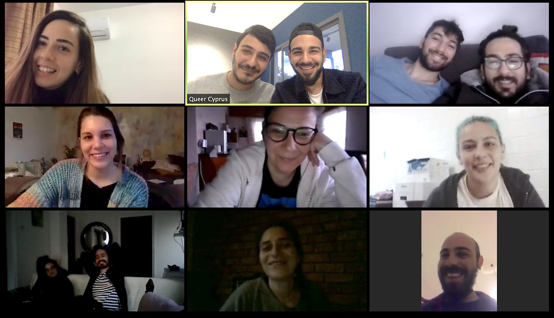 Queer Cyprus Association held a 'Social Work' Webinar